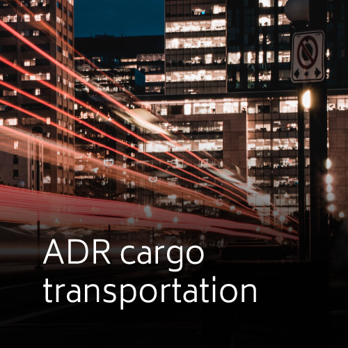 ADR cargo transportation