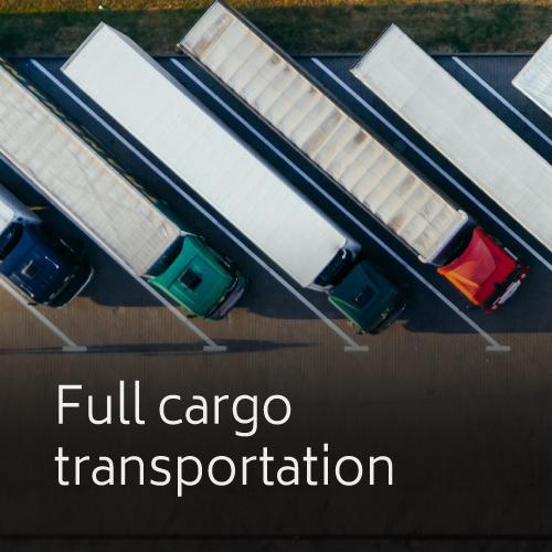 Full cargo transportation