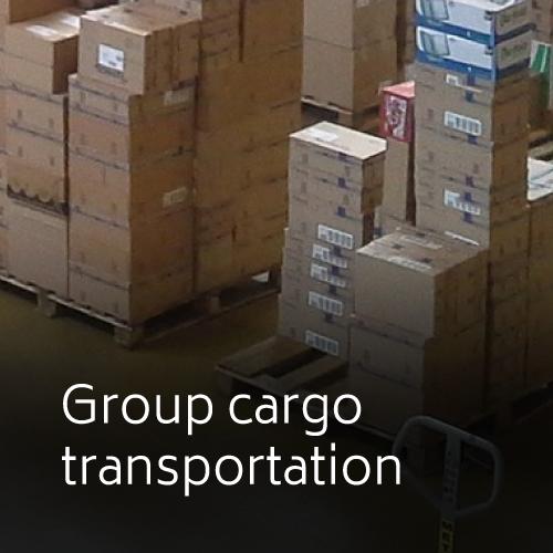 Group cargo transportation